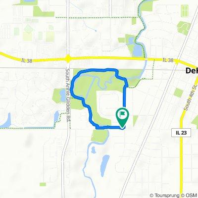405 W Taylor St, DeKalb to 405 W Taylor St, DeKalb