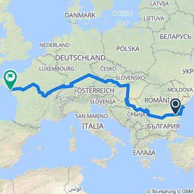 Eurovelo 6 - Atlantic-Black Sea
