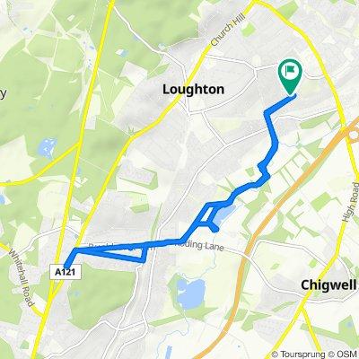 1 Deepdene Path, Loughton to 5 Deepdene Path, Loughton