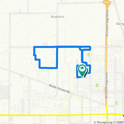 1714 Patty Dr, Yuba City to 1791 Bradley Estates Dr, Yuba City