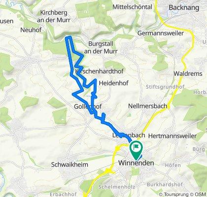 Winnenden, Buchenbachtal, Winnenden