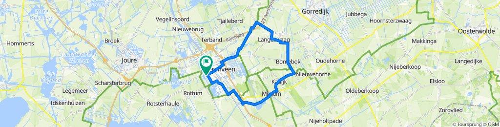 Frisse rit in Heerenveen