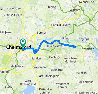 65 Hill Road, Chelmsford to 64 Hill Road, Chelmsford