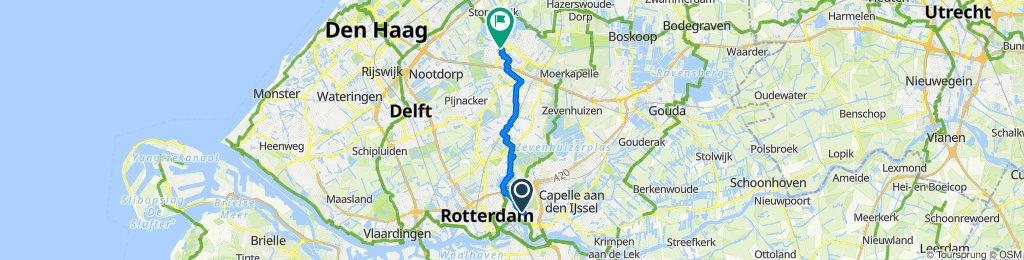 Slow ride in Zoetermeer
