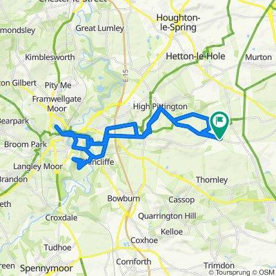 2 The Paddocks, Durham to 2 The Paddocks, Durham