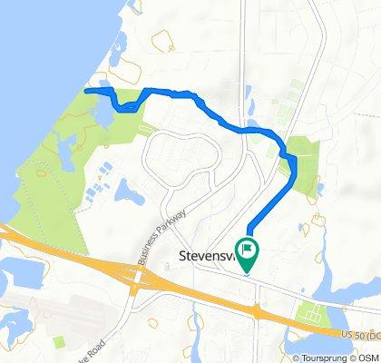 Steady ride in Stevensville