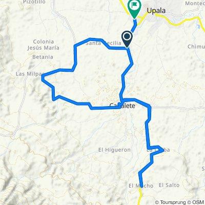 Paseo lento en Upala