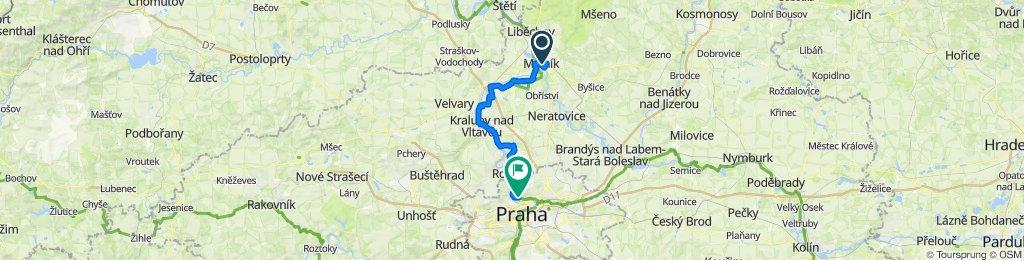 Melnik - Prag