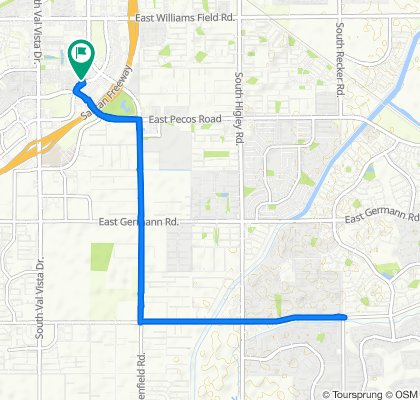 Supersonic route in Gilbert