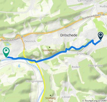 Moderate Route in Iserlohn