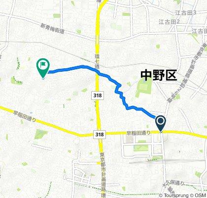 Steady ride in Nakano-Ku