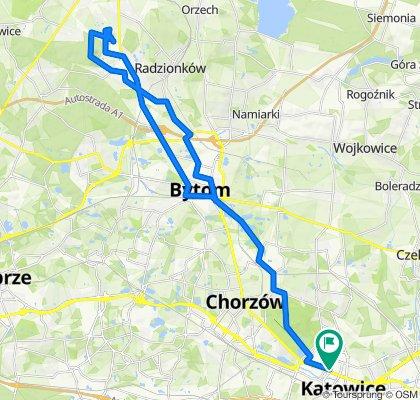 🚴🏼♂️ Katowice ➡️ Dawna kopalnia dolomitu Bobrowniki przez rezerwat Segiet