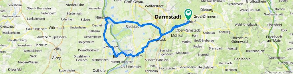 Roßdorf - Rheinhessen und zurück