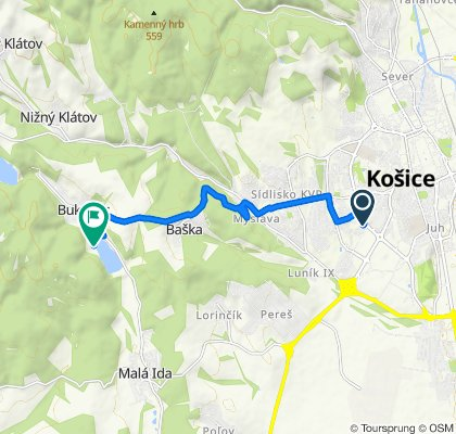 Košice - Bukovec