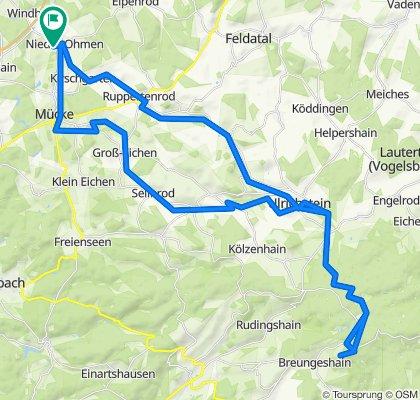 Nieder Ohmen - Hoherodskopf 23.04.2020