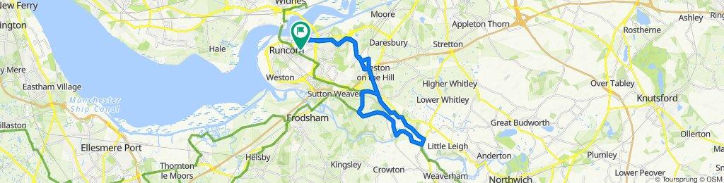 4 Wadham Close, Runcorn to 4 Wadham Close, Runcorn