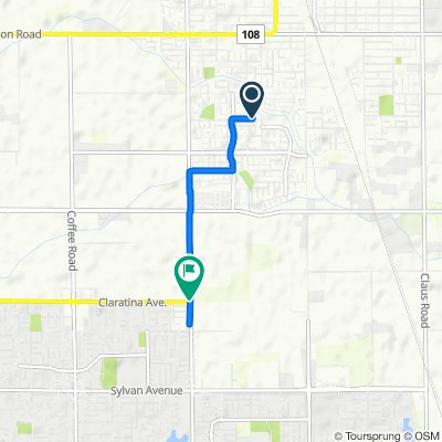 Novi Drive 2609, Riverbank to Rosalina Drive 4220, Modesto