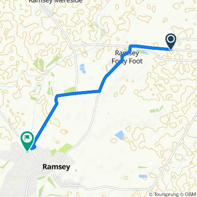 Restful route in Huntingdon