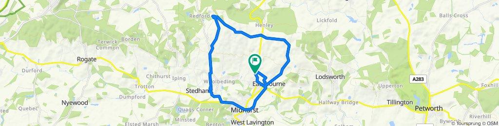 Budgenor Lodge, Dodsley Lane, Midhurst to Budgenor Lodge, Dodsley Lane, Midhurst