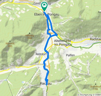 Schnelle Tour in Eben im Pongau