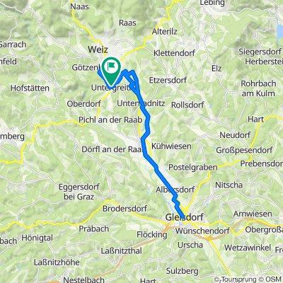 Schnelle Tour in Mitterdorf an der Raab