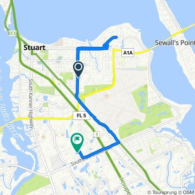 Restful route in Stuart