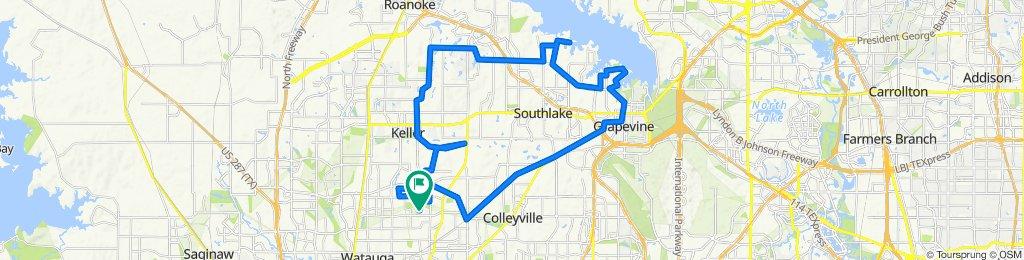 7509 Oak Park Dr, North Richland Hills to 7509 Oak Park Dr, North Richland Hills