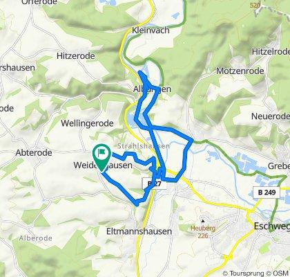 """Weidenhausen-Niederhone-Albungen-""""Nordcap""""-Jestädt-Niederhone-Home"""