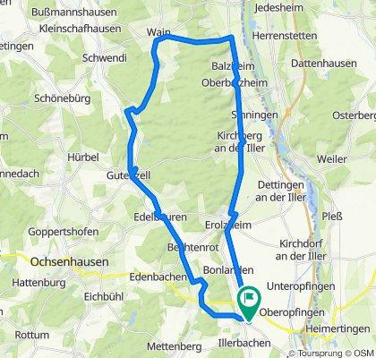 Eichendorffstraße 3, Berkheim to Eichendorffstraße 5, Berkheim