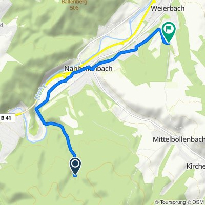 Entspannende Route in Idar-Oberstein