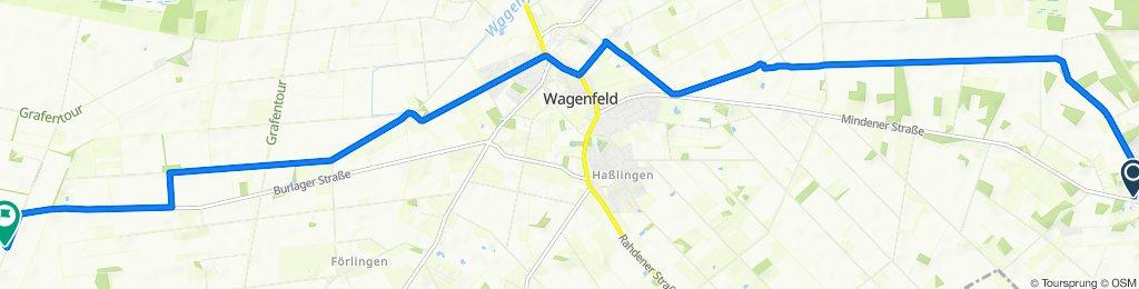 Schnelle Tour in Hemsloh