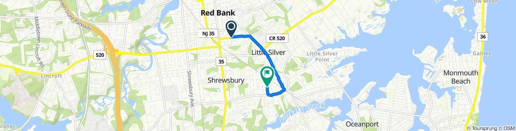Restful route in Shrewsbury