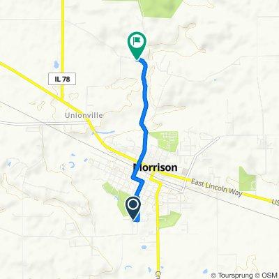 104 Carolee Ln, Morrison to 14697–14999 Damen Rd, Morrison