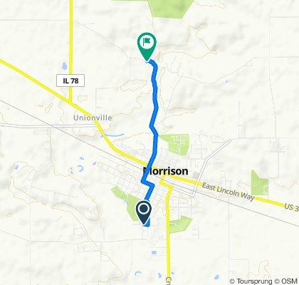 102 Carolee Ln, Morrison to 16925–16999 Crosby Rd, Morrison