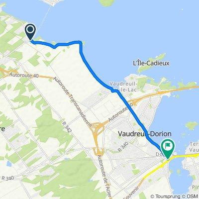 1010004 Regional Connector 08.03 Como, QC to Vaudreuil-Dorion, QC 11.1km
