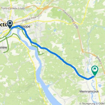1010004 Regional Connector 09.02 Moncton, NB to Memramcook, NB 21.8km