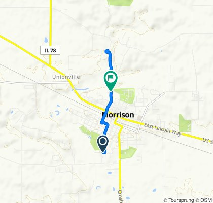 102 Carolee Ln, Morrison to 675–699 N Orange St, Morrison
