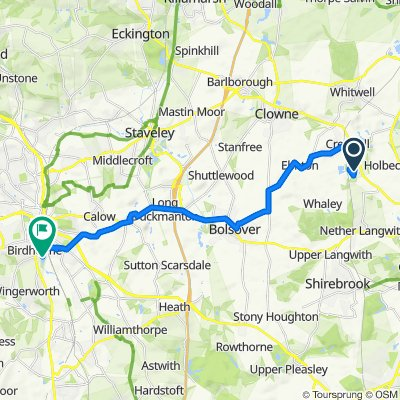 Fast Route to McGregor's Way, Chesterfield