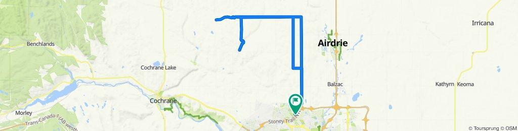 190 Evansmeade Close NW, Calgary to 190 Evansmeade Close NW, Calgary
