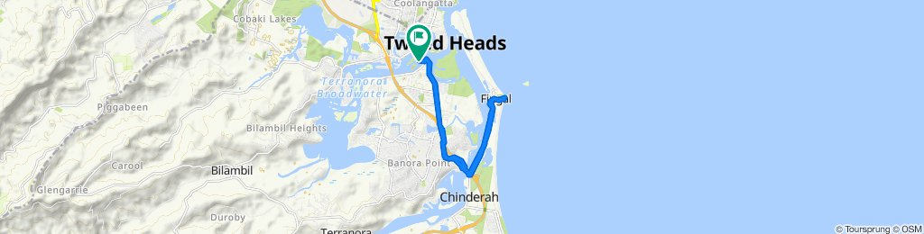 Easy ride in Tweed Heads South