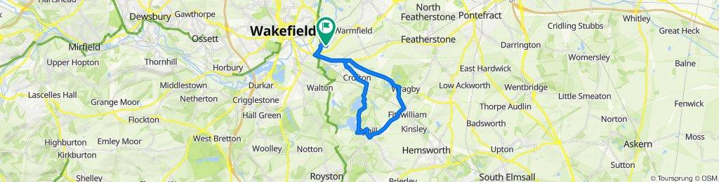 3 Elm Cottages, Wakefield to 3 Elm Cottages, Wakefield