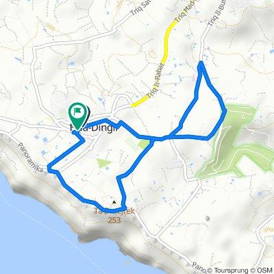Dingli - Rabat Route