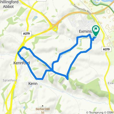 Kenn/ Kennford/ Townsington Lane Loop