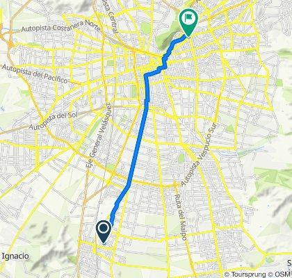De Rayen Quitral 14482, San Bernardo a Nueva Los Leones 17, Providencia