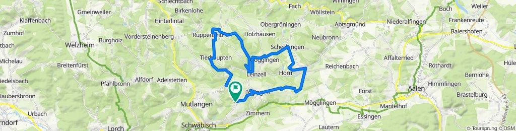 Herlikofen- Täferrot- Tierhaupten- Ruppertshofen- Götzenbachsee- Schechingen- Heuchlingen- Iggingen- Herlikofen