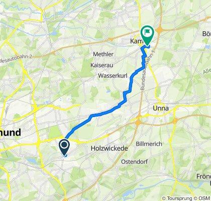 Moderate Route in Kamen