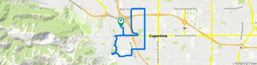 Cupertino school loop
