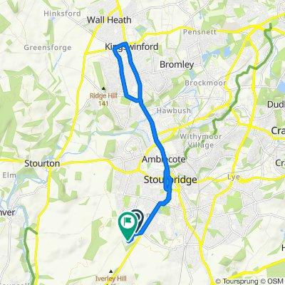 14 Greyhound Lane, Stourbridge to 30 Sandy Road, Stourbridge