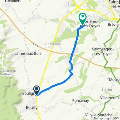 Vitesse supersonique en Rosières-près-Troyes