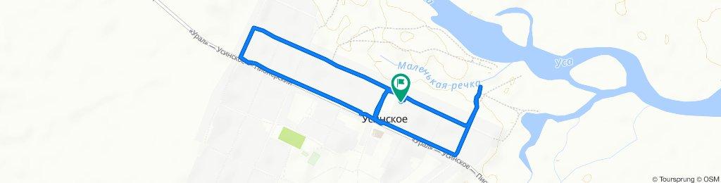 Неторопливый маршрут в Усинское